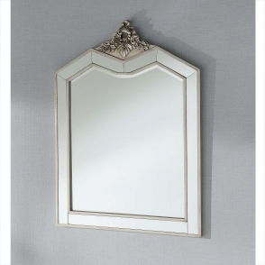 Argente Antique French Style Dressing Table Mirror