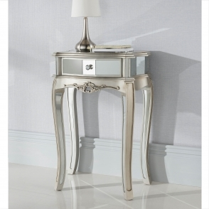 Argente Mirrored Antique French Style Table