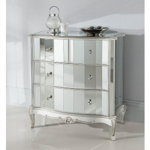 Argente Mirrored Chest Of Drawers