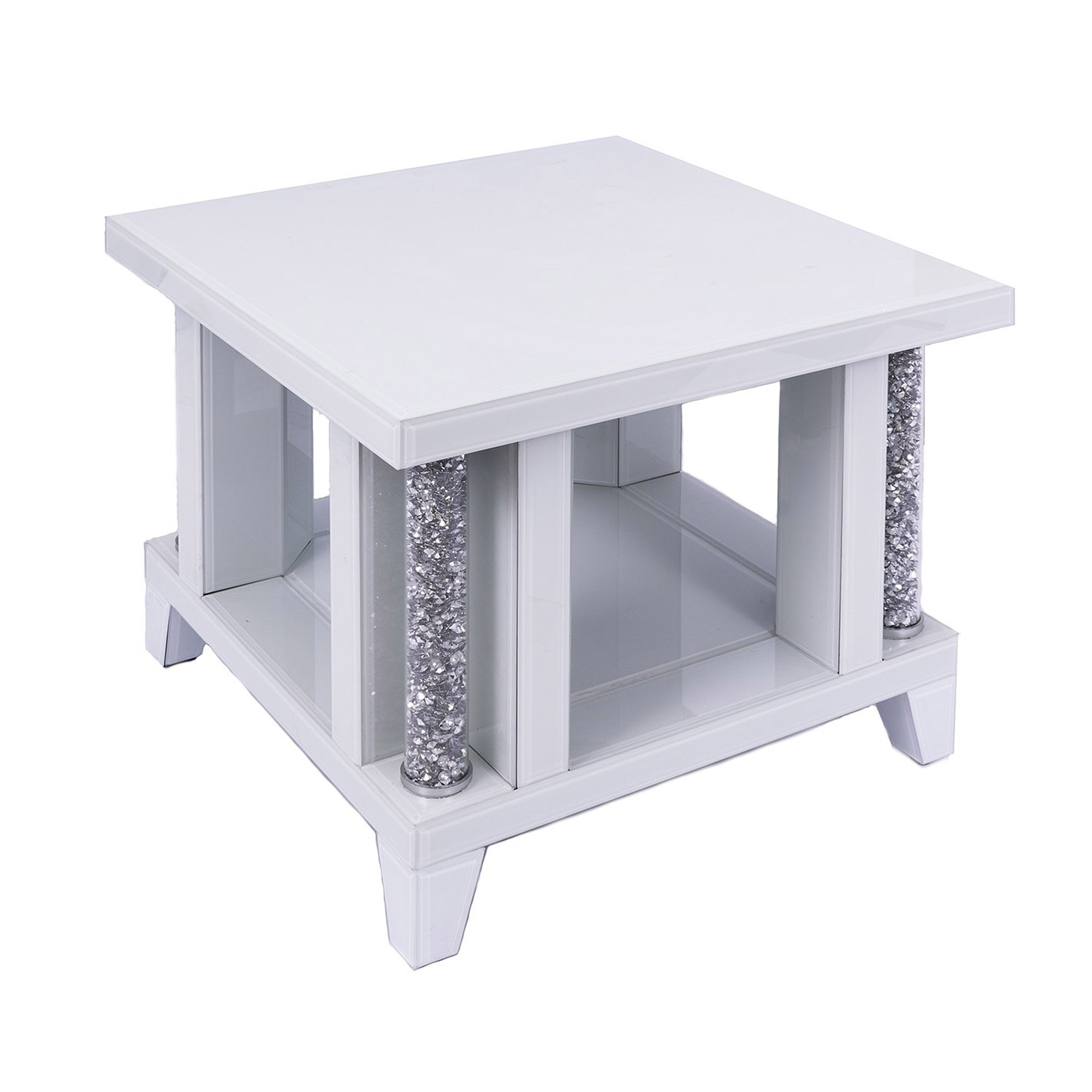 Picture of: Ariana White Side Table Side Tables