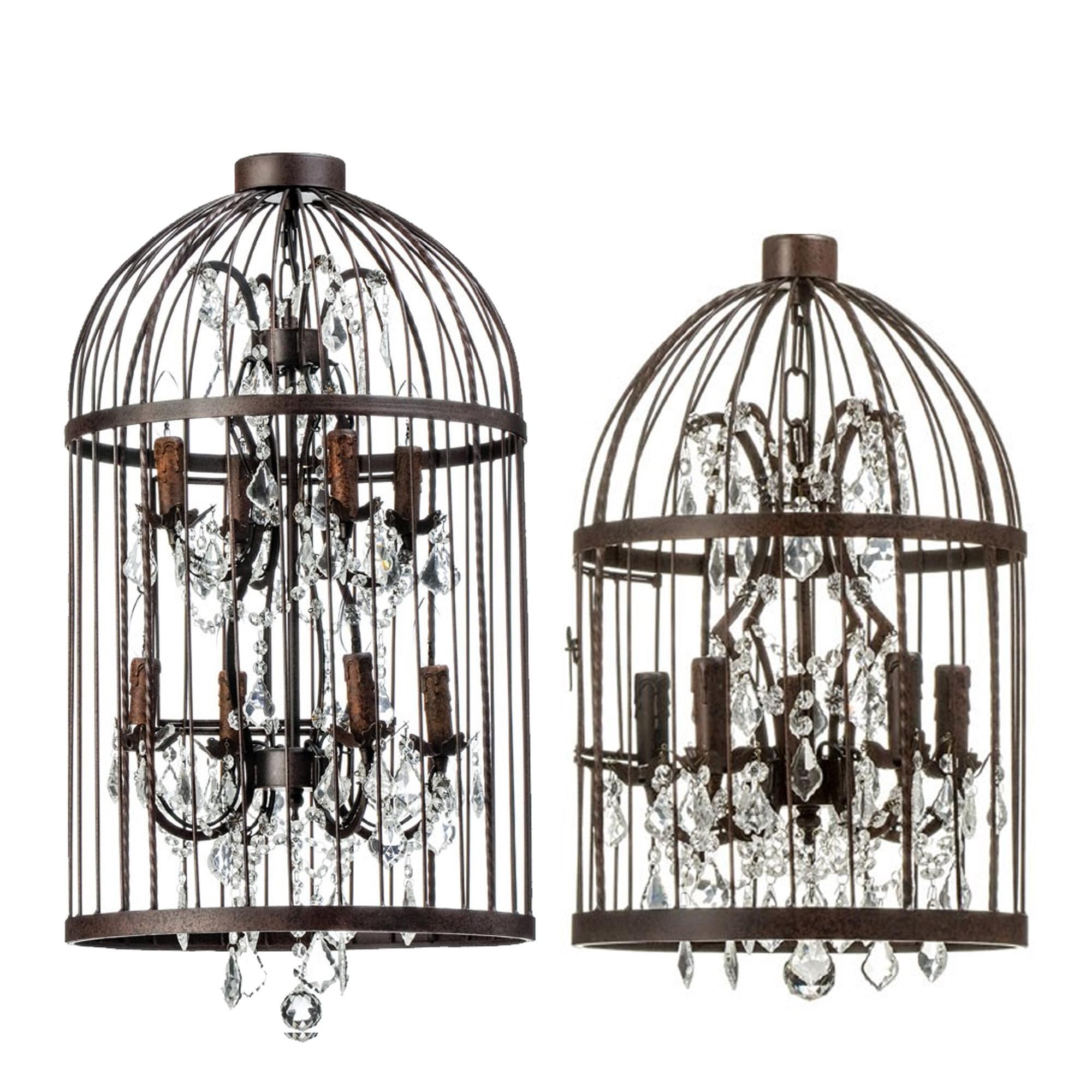 Art Deco Birdcage Pendant Light Industrial Pendant Lighting Uk