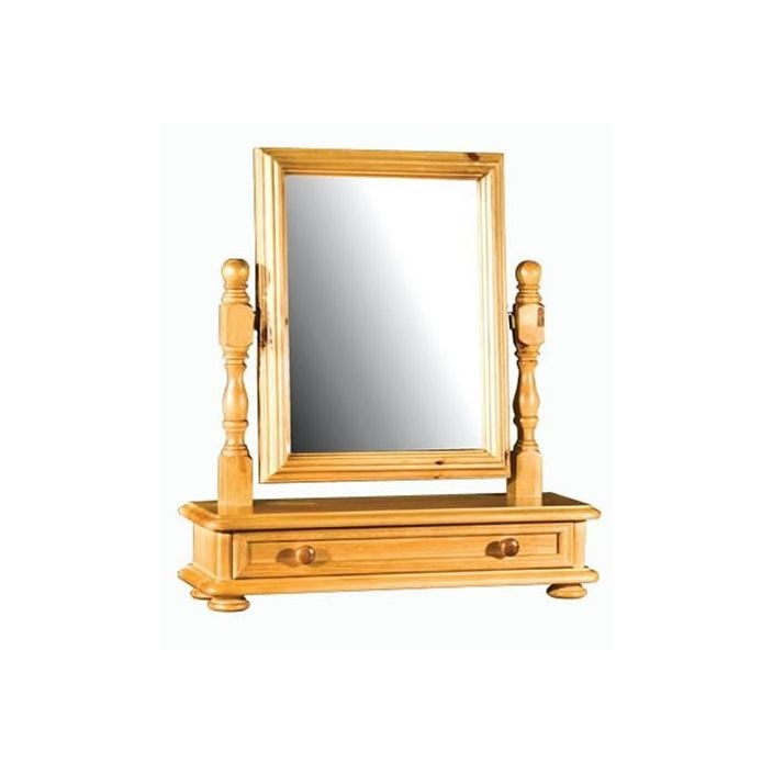 Ascot Dressing Table Mirror With Drawer French Mirrors From Homesdirect 365 Uk