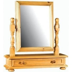 Ascot Dressing Table Mirror with Drawer
