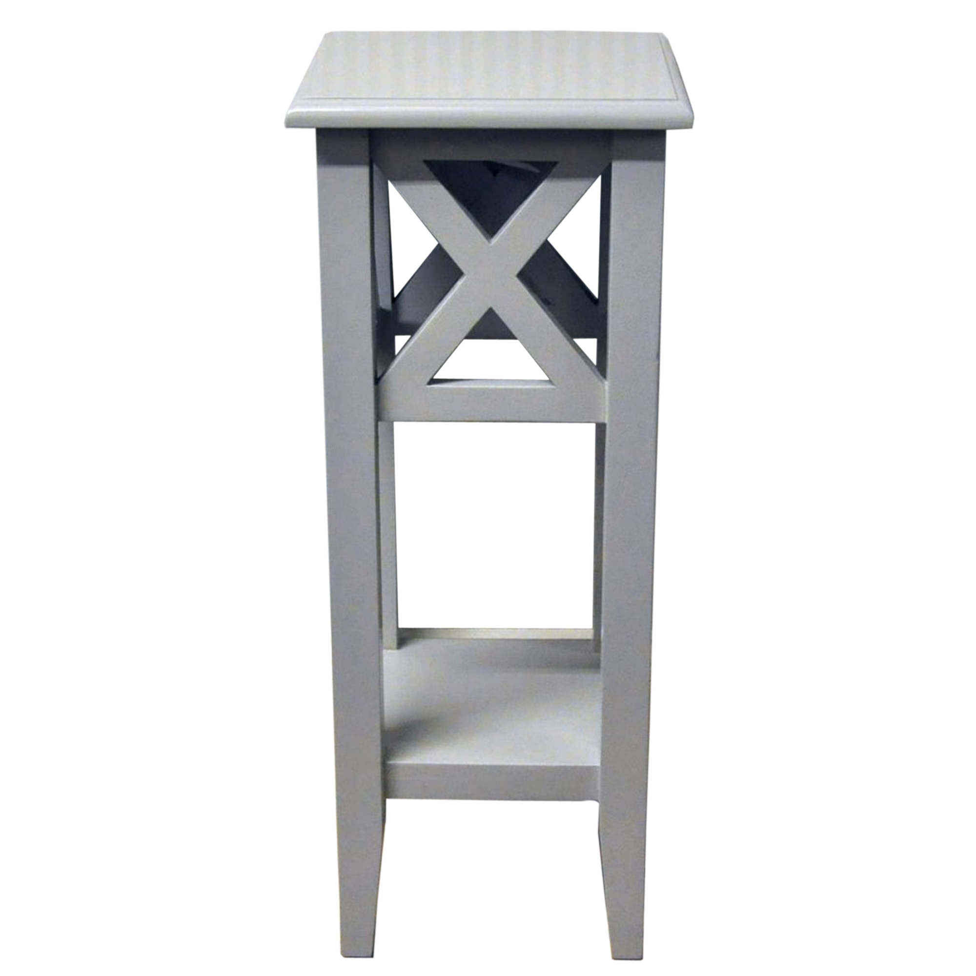 Ascot Grey Side Table