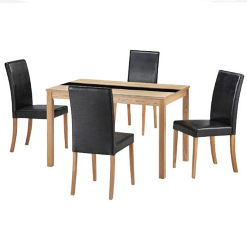 Ashleigh 4 Seater Dining Set Modern Furniture Tables Chairs