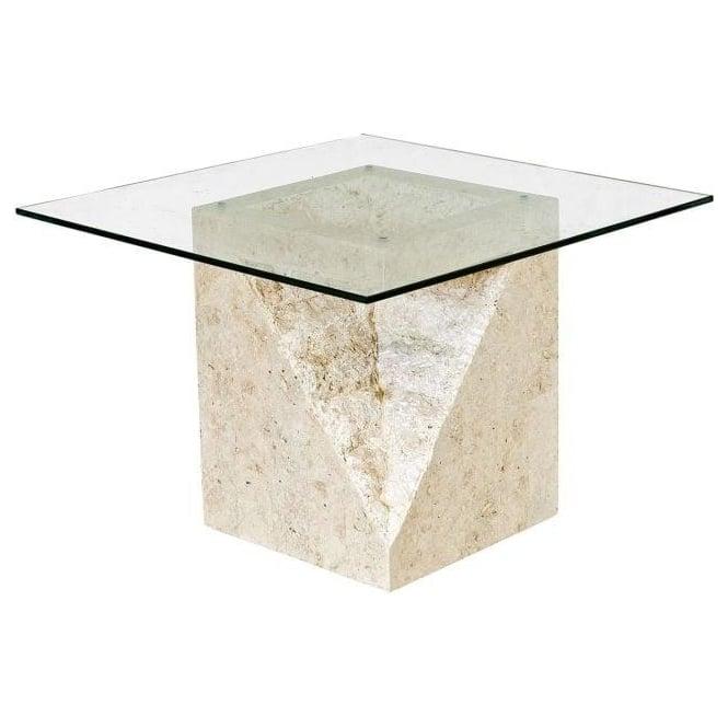 Athens Mactan Stone End Table