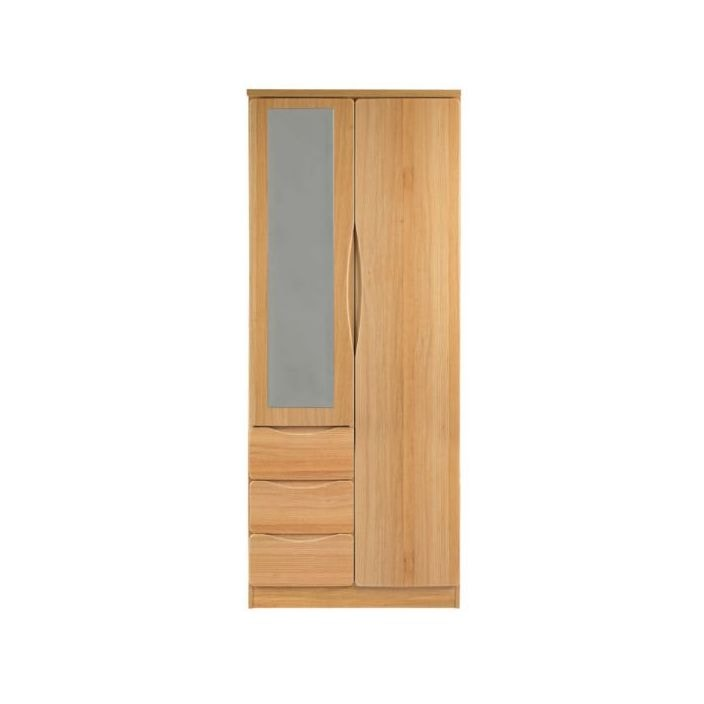 Auckland oak combination wardrobe for C furniture auckland