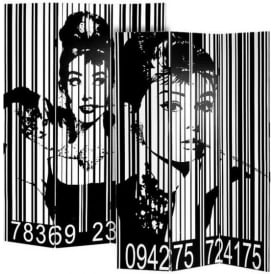 Audrey Hepburn Screen Divider