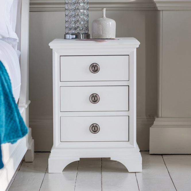 Aurelia 3 Drawer Bedside Table