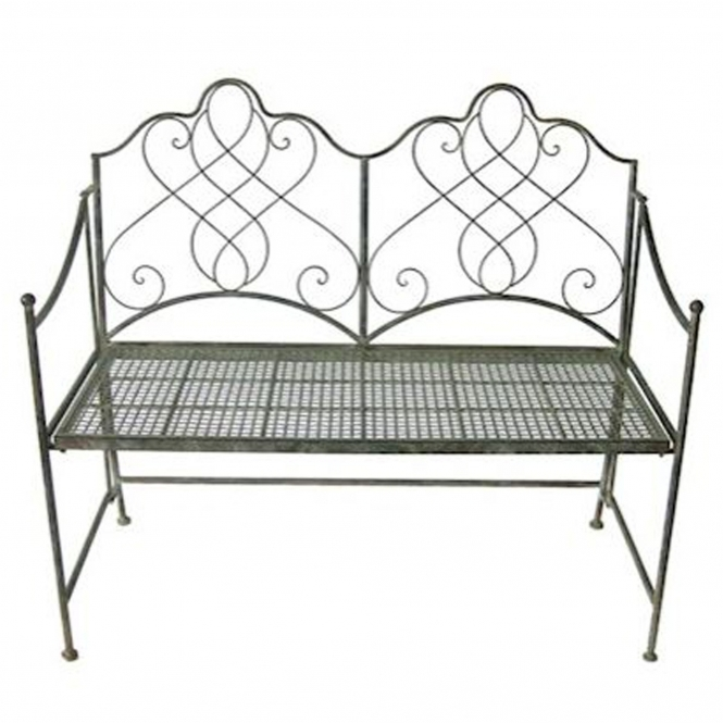 Avalon Antique French Style Outdoor Bench