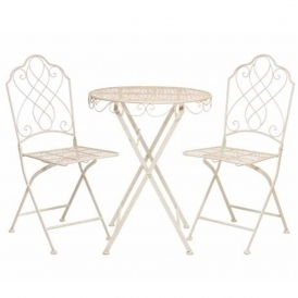Avalon Cream Antique French Style Table Set