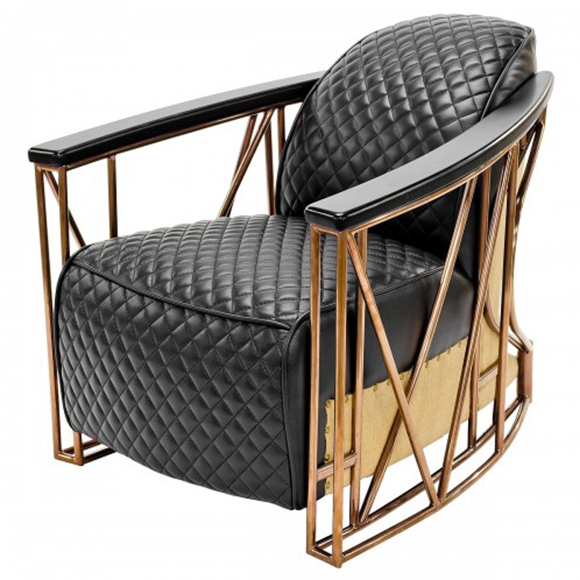 Picture of: Aviator Black Leisure Arm Chair Arm Chairs Modern Contemporary Furniture