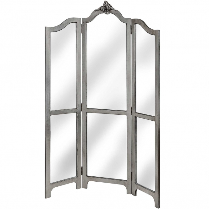 Avignon Antique French Style 3 Panel Room Divider