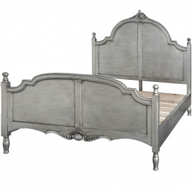 Avignon Antique French Style Kingsize Bed
