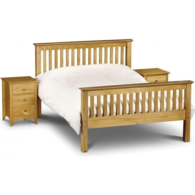 Barcelona Bed - High Foot End