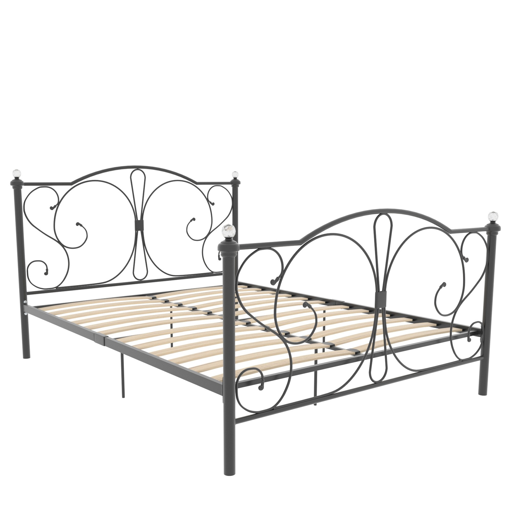 Barcelona King Size Metal Bed Bedroom Furniture Modern Beds