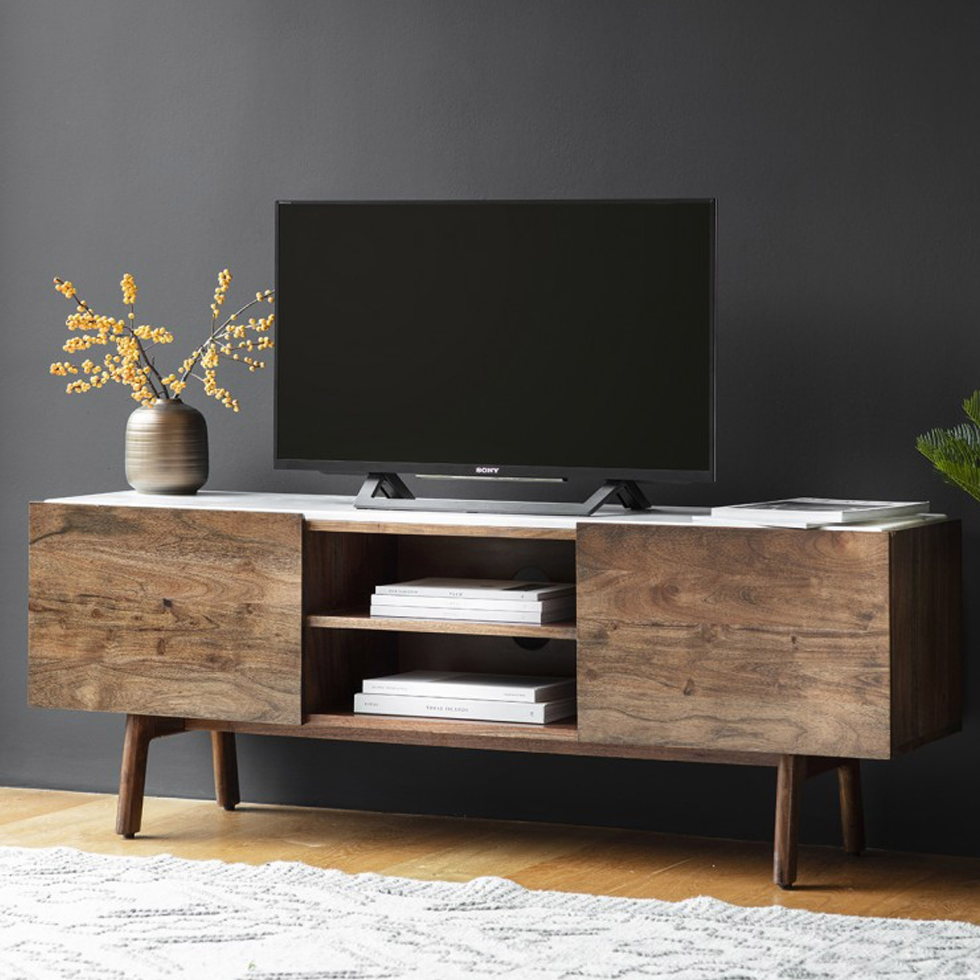 Superb Barcelona Tv Cabinet Machost Co Dining Chair Design Ideas Machostcouk