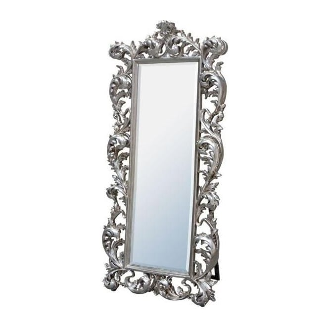 Baroque Antique French Style Cheval Mirror