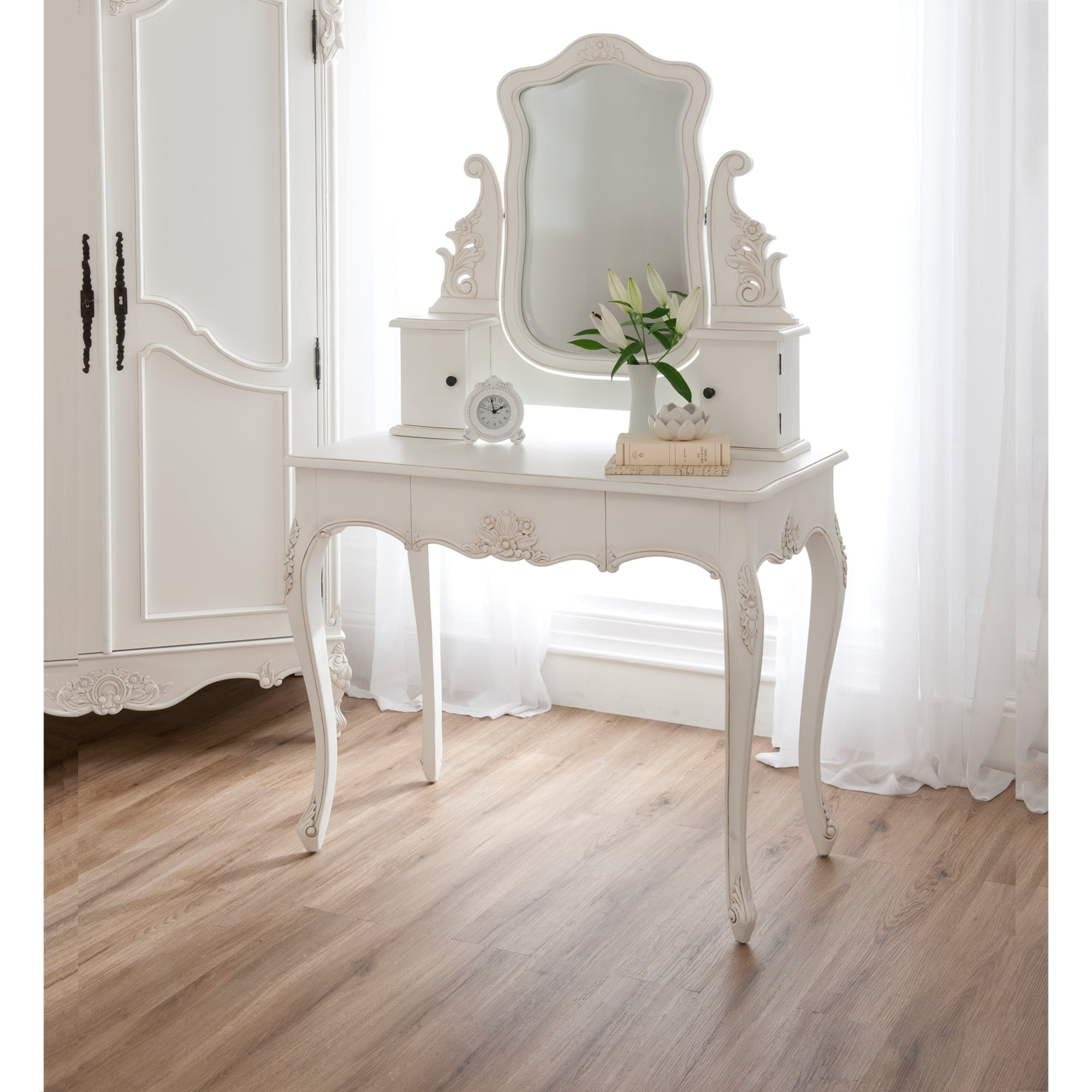 Baroque Antique French Dressing Table