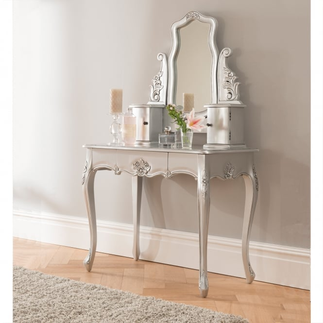 Baroque Antique French Style Dressing Table