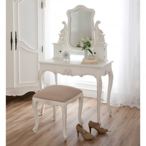 Baroque Antique French Style Dressing Table Set