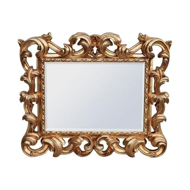 Baroque Antique French Style Mirror
