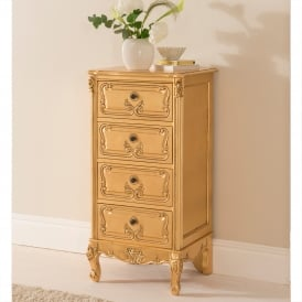 Baroque Antique French Style Tallboy Chest