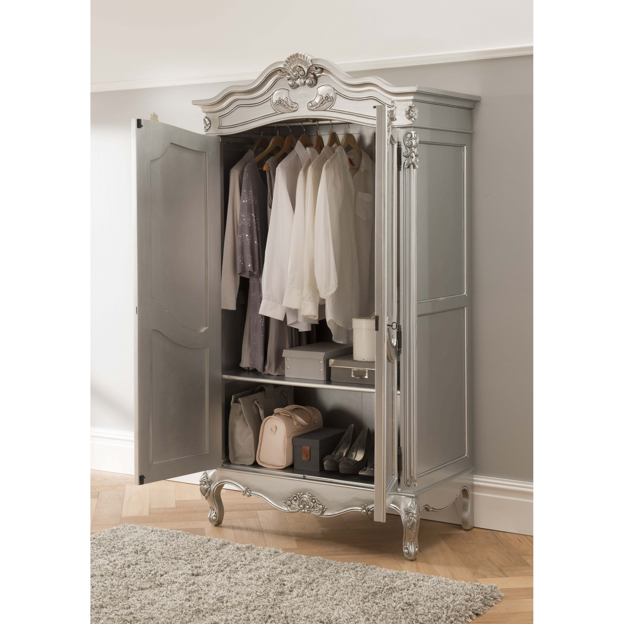 Baroque Antique French Style Wardrobe