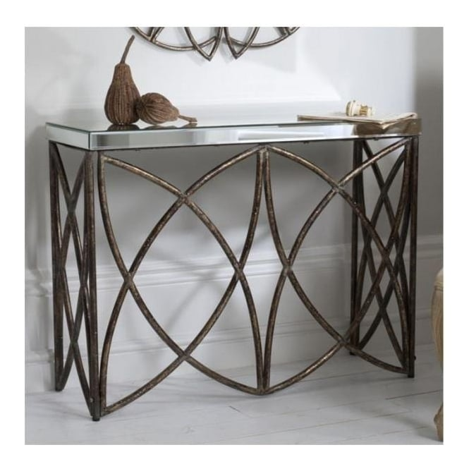 Beckfield Aged Console Table