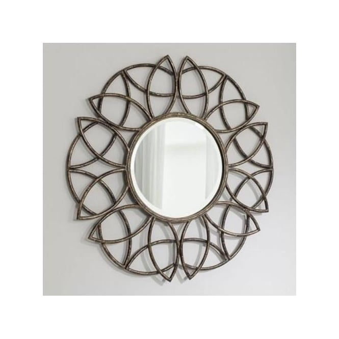 Beckfield Decorative Metal Mirror