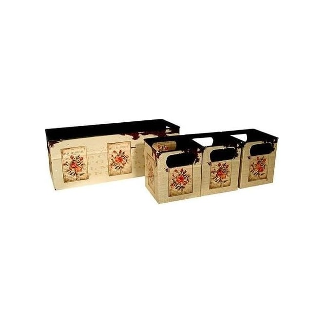 Belle Jardiniere Boxes Set Of 4