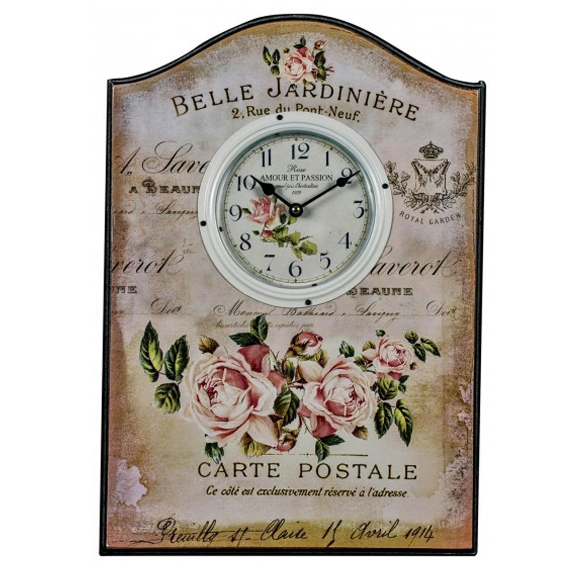 Strange Belle Jardiniere Wall Clock Download Free Architecture Designs Rallybritishbridgeorg
