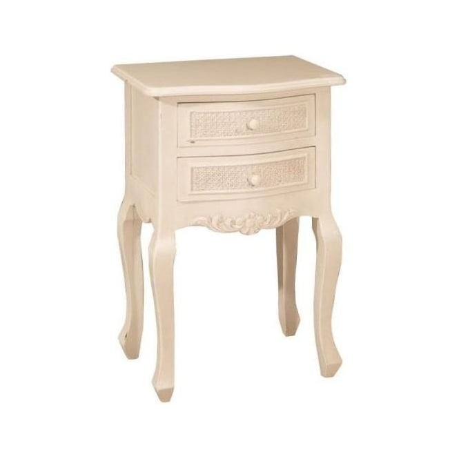 Bergere Antique French Style Bedside