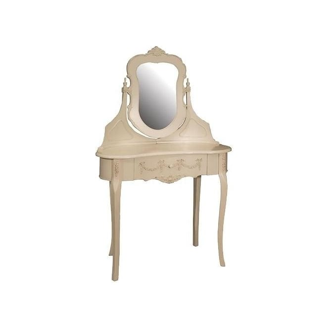Bergere Antique French Style Dressing Table