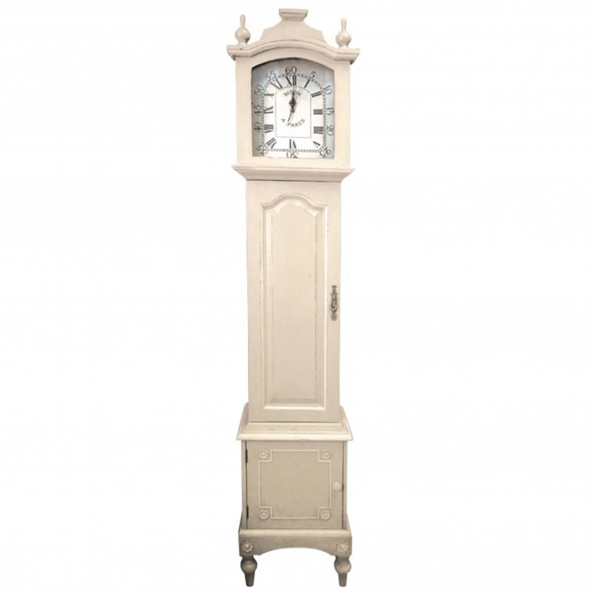 Bergere Antique French Style Grandfather Clock