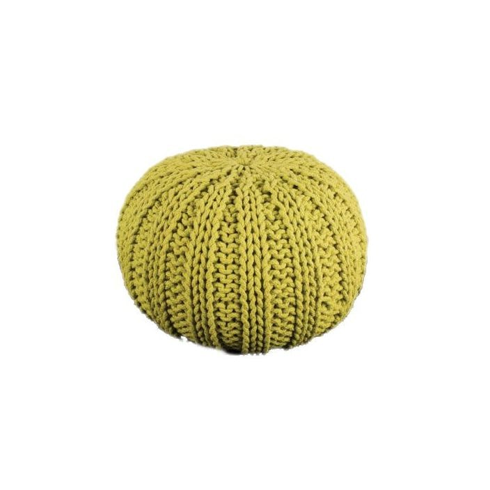 Big Knit Cable Pouffe Footstools Amp Pouffe From