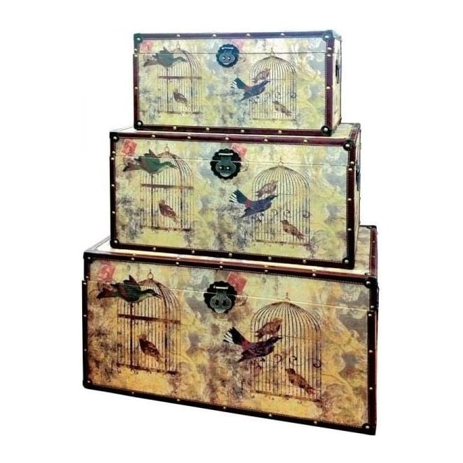 Bird Cages Trunk Set