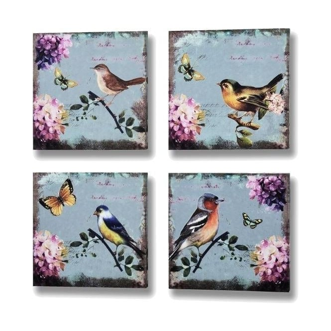 Birds and Butterflies Canvases