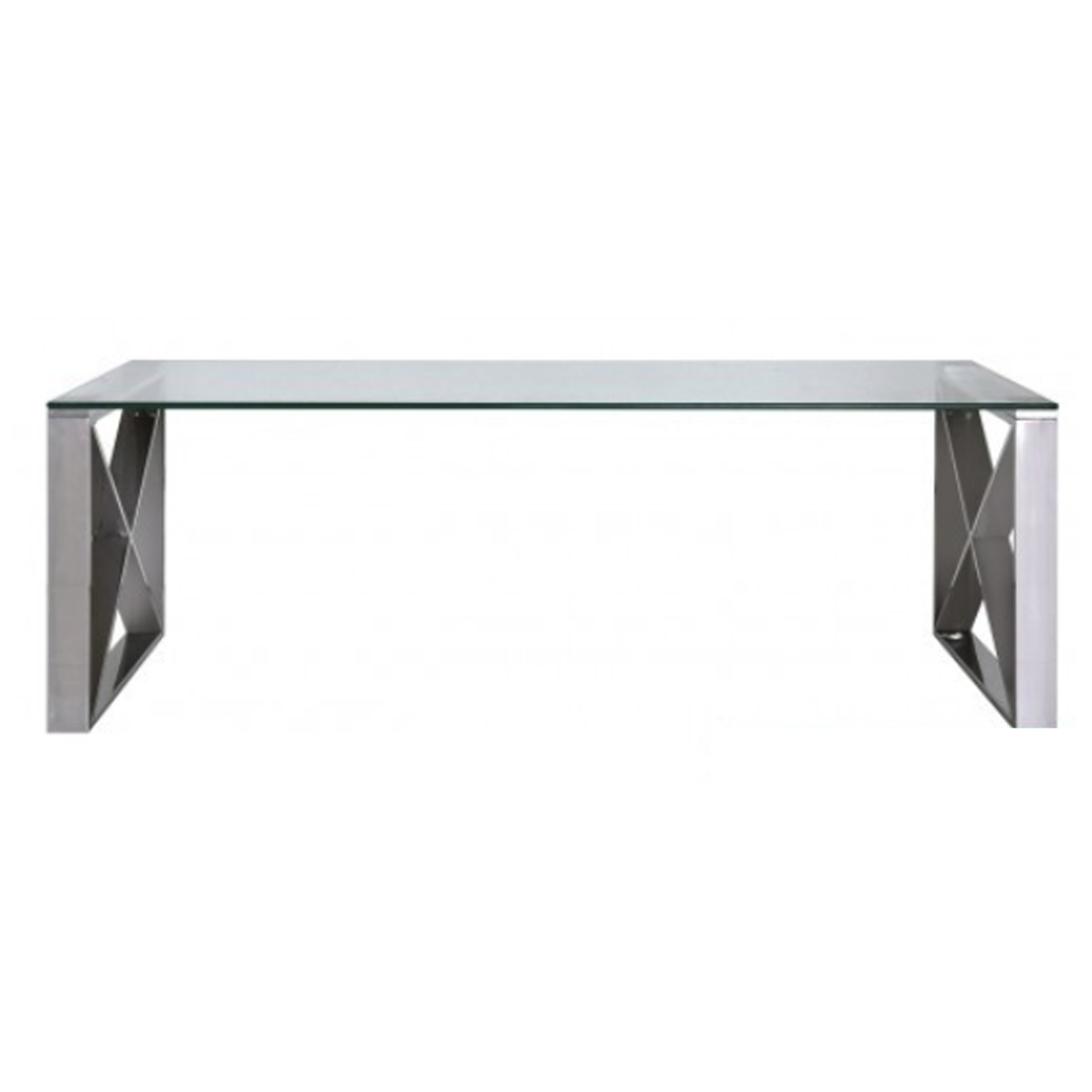 Stainless Steel Glass Coffee Table Coffee Table Modern Furniture