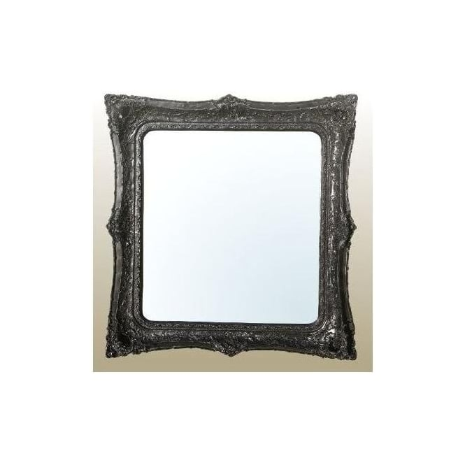 Black Antique French Style Decorative Wall Mirror