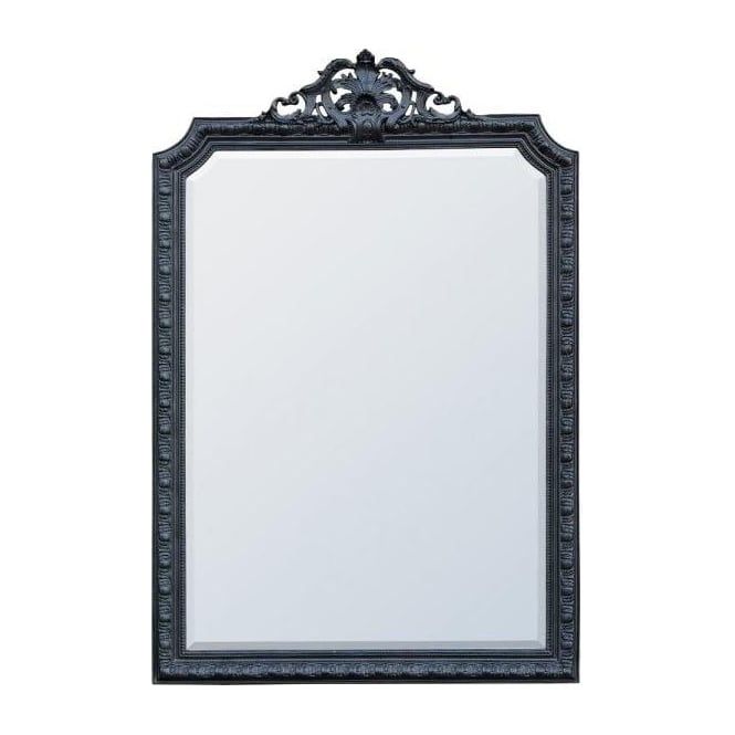 Black Antique French Style Mirror