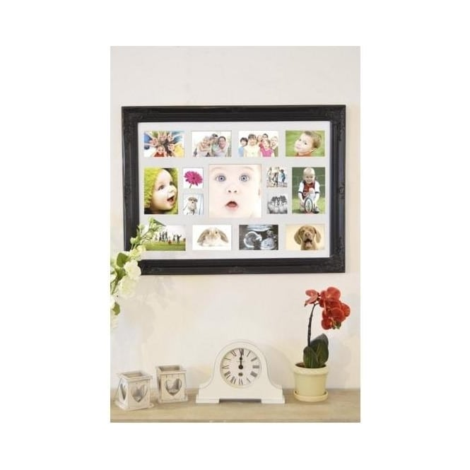 Black Antique French Style Photo Frame