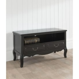 Black Antique French Style TV Stand