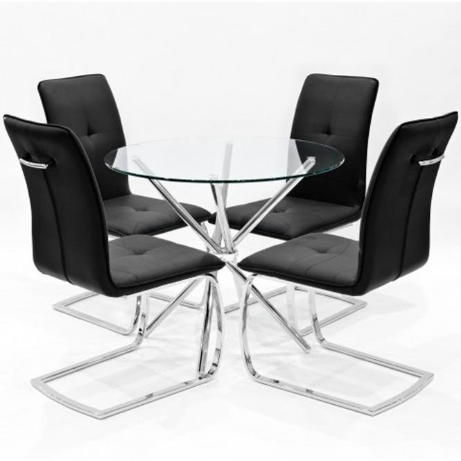 Amazing Black Belmont Cross Dining Set Download Free Architecture Designs Grimeyleaguecom