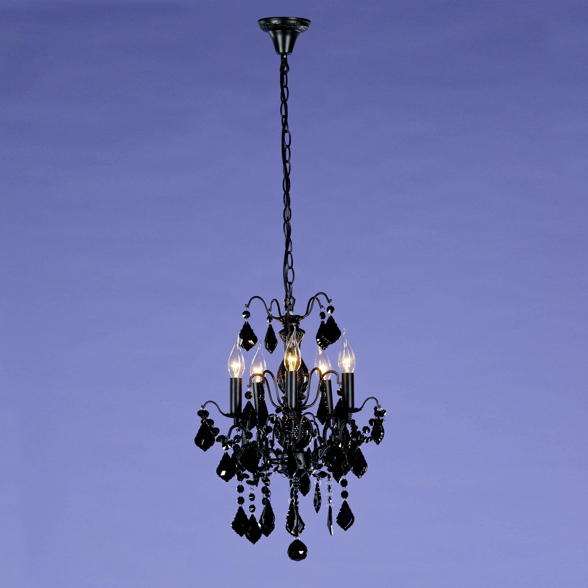 Black Chandelier 5 lights