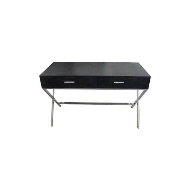 Black Contemporary Console Table