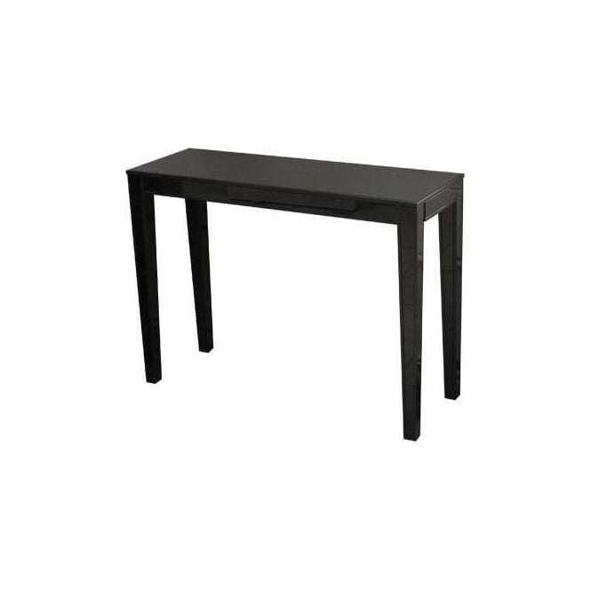Black Glass Console
