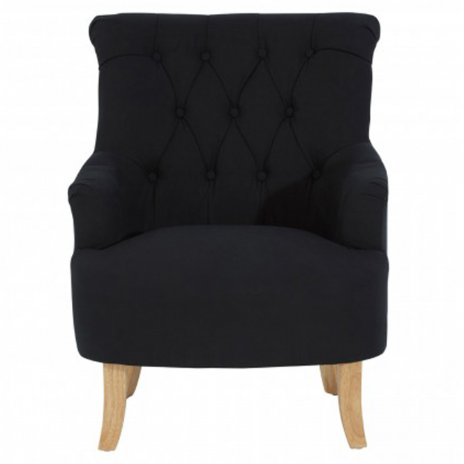 Black Hampstead Armchair