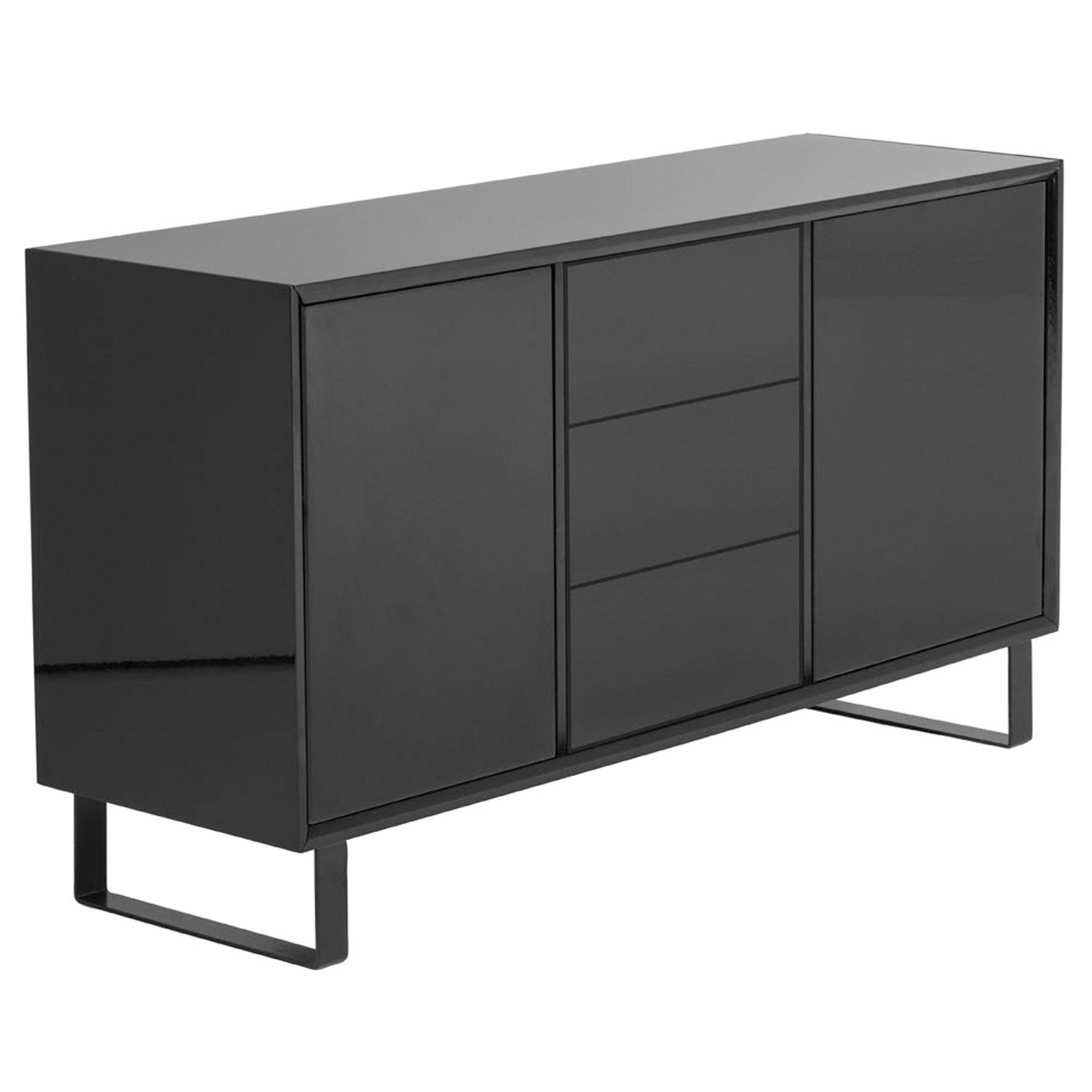 Black Sideboard Modern Contemporary Furniture