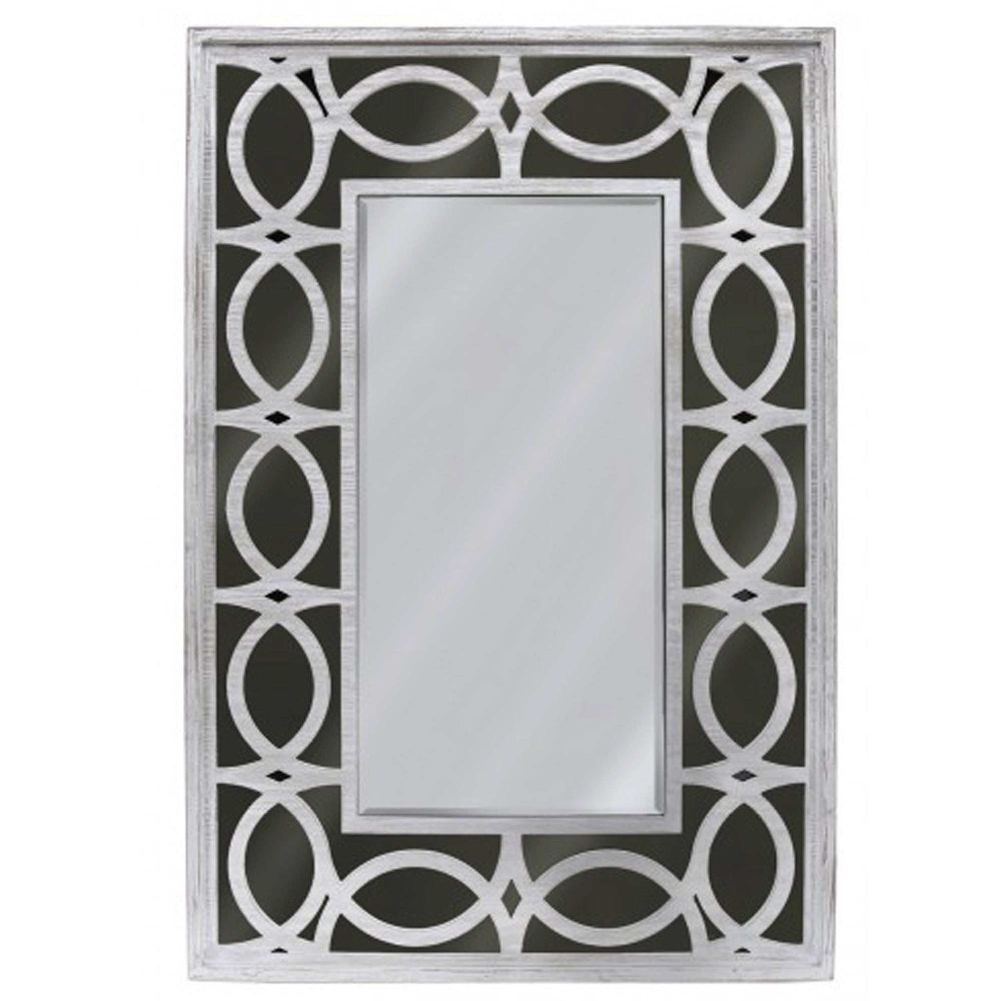 6ba0d618f3d Black   Silver Decorative Wall Mirror